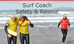 SLSGB Surf coach safety & rescue